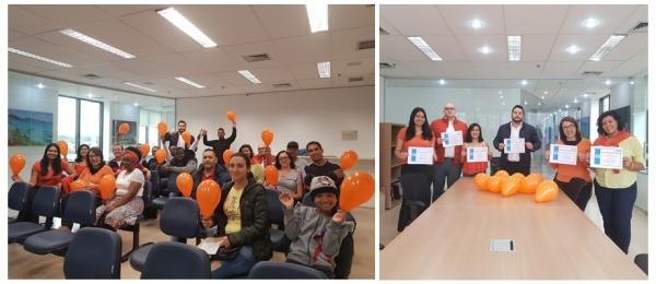 Consulado de Colombia en Sao Paulo compartió con los usuarios la necesidad de ser consientes en el respeto, en el trato y la equidad a la mujer